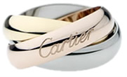 Cartier Gold Trinity Ring