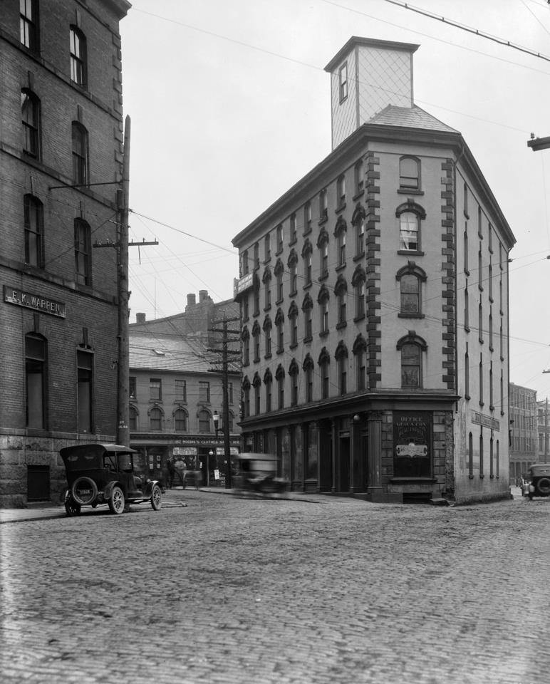 A Long-Gone Flatiron Building in Halifax