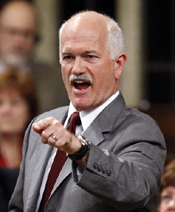 Jack Layton in Commons